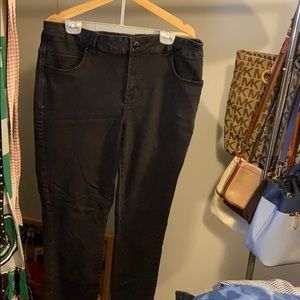 Plus Size Everflex Skinny Jeans 18W Long